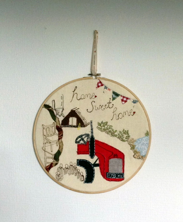 Irish Hand Embroidered Hoops